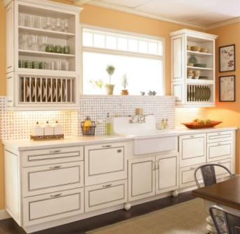Small Kitchens Kraftmaid Farmhouse Style