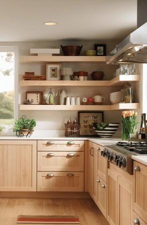 Kraftmaid Scandinavian kitchen