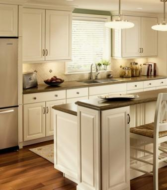 Kraftmaid Galley small kitchen