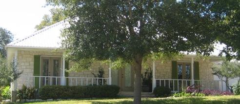 Salado Texas stone plantation house
