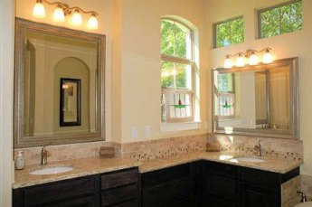 Master bath of big house