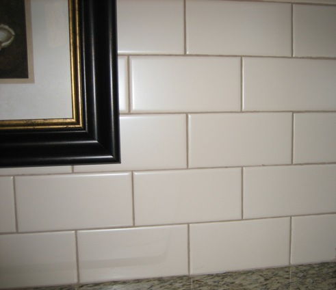 Subway Tile in the big house
