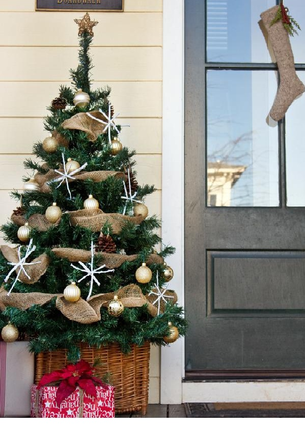 Front Porch Small Christmas Tree