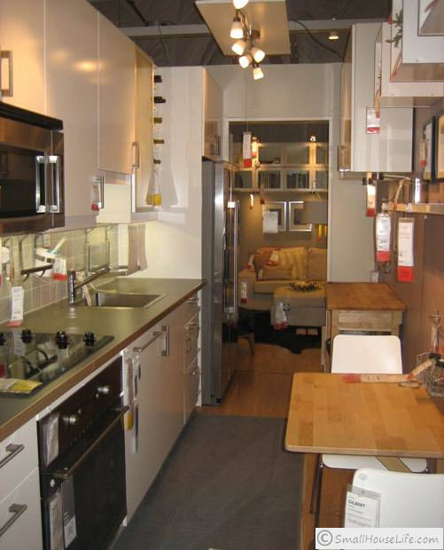 Ikea Kitchen Showroom: Small House 376 Square Feet