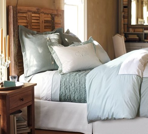 Photo credit: Pottery Barn Small Bedroom