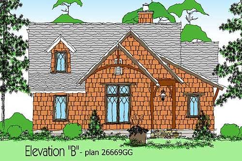 Small House Plans – 936 Square Feet