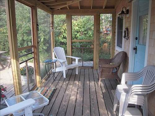 little porch