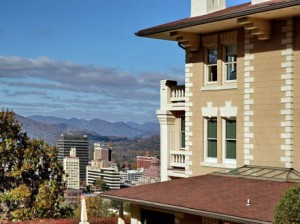 View to downtown Asheville