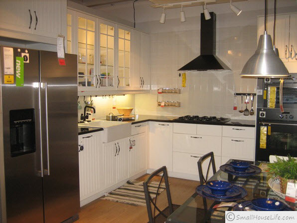 Ikea small house plan 621 square feet - Small kitchens ikea ...