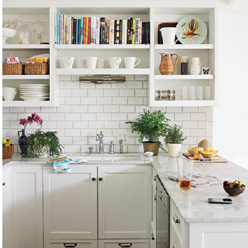 Small white kitchen designs best home decoration world class for Small white kitchen ideas
