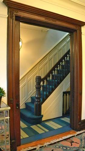 Small House Stair hall
