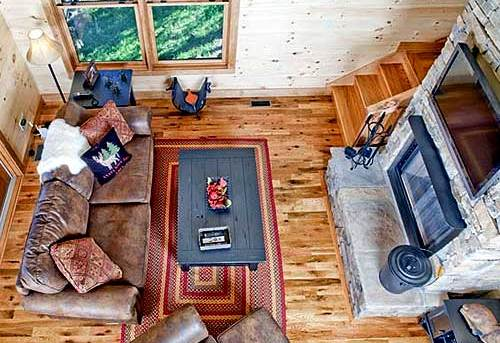 Pleasant Classic Small Rustic Home Largest Home Design Picture Inspirations Pitcheantrous