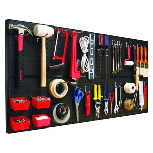 Pegboards for garage storage