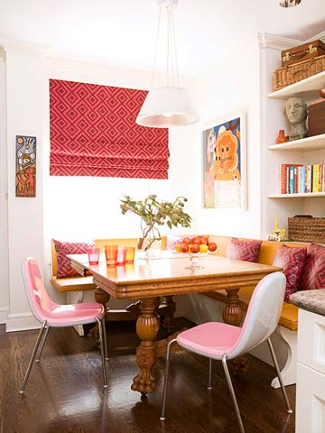 small home dining nook