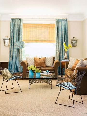 small home family room