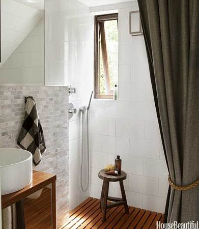 modern small house guest bathroom