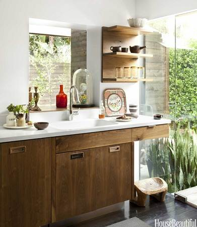 modern small house kitchen sink