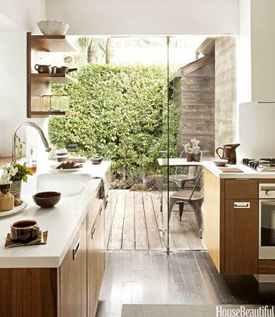 modern small house kitchen