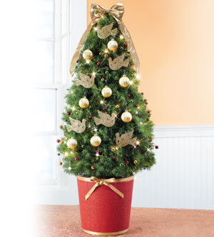 small christmas tree decorated - Small Decorated Christmas Trees